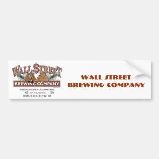 WALL-STRRET-BREWING-for-Caf Bumper Sticker