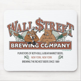 WALL-STRRET-BREWING-for-Caf Mouse Pad