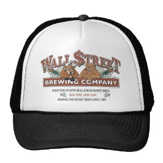 WALL-STRRET-BREWING-for-Caf Trucker Hat