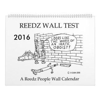 Wall Test 2016 Reedz People Calendar