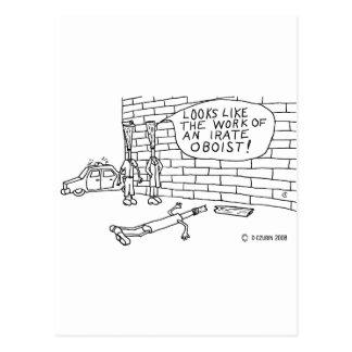 Wall Test Postcard