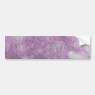 Wall texture (Pink & White effects) Bumper Sticker