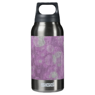 Wall texture (Pink & White effects) Insulated Water Bottle