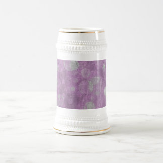 Wall texture (Pink & White effects) 18 Oz Beer Stein