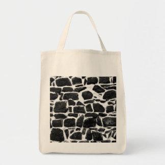 Wall texture tote bag