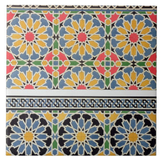 Wall tiles from the mihrab of the Mosque of Cheykh
