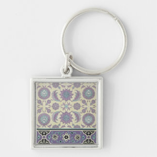 Wall tiles from the Palace of Ismayl-Bey, from 'Ar Keychain