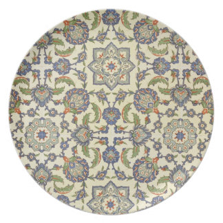 Wall tiles of Qasr Rodouan, from 'Arab Art as Seen Melamine Plate