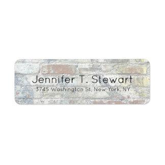 Wall Trendy Chic Modern Professional Elegant Label