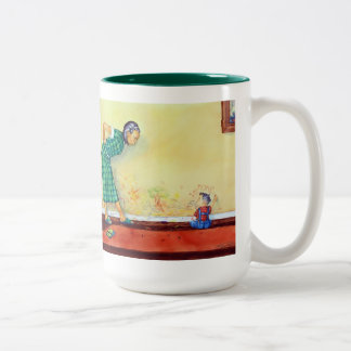 Wall Two-Tone Coffee Mug