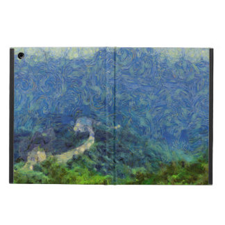 Wall vanishing into the distance cover for iPad air