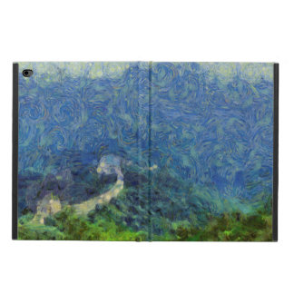 Wall vanishing into the distance powis iPad air 2 case