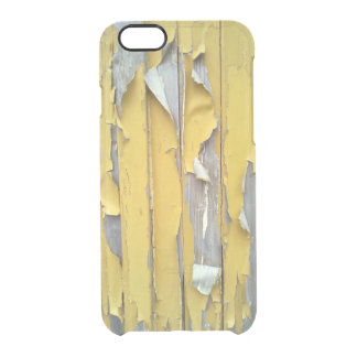 wall yellow flaking paint uncommon clearly™ deflector iPhone 6 case