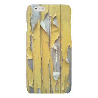 wall yellow flaking paint matte iPhone 6 case