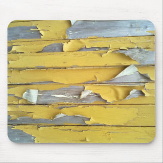 wall yellow flaking paint mouse pad