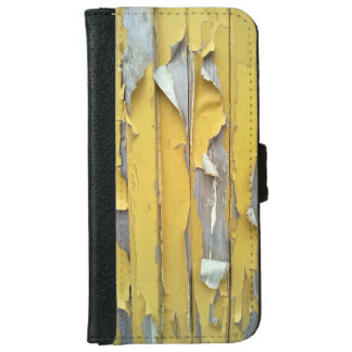wall yellow flaking paint iPhone 6 wallet case