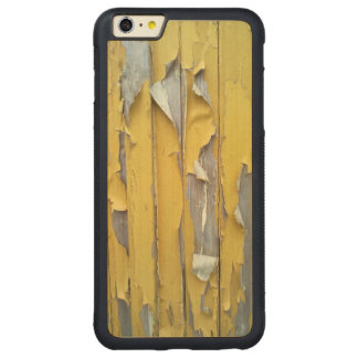 wall yellow flaking paint carved® maple iPhone 6 plus bumper case