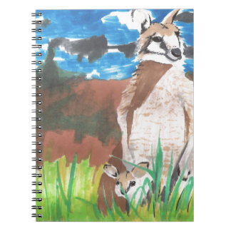 Wallabies Spiral Notebook