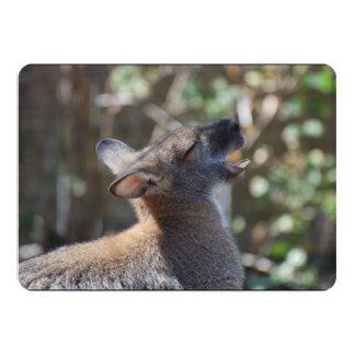 Wallaby 5x7 Paper Invitation Card