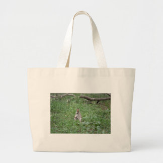 WALLABY AND JOEY RURAL QUEENSLAND AUSTRALIA LARGE TOTE BAG