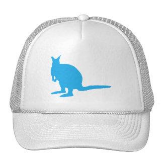 Wallaby. azul gorros