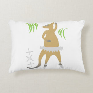 Wallaby ballet pillow