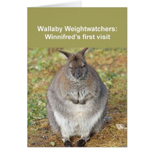 Wallaby card