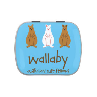 < Wallaby (for light-colored area) > Wallabys (for Jelly Belly Tin