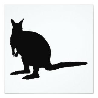 Wallaby. Invitation