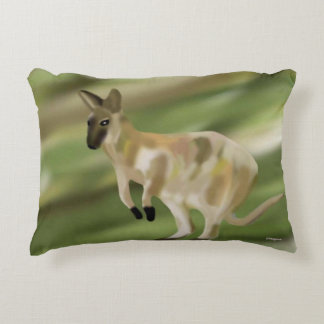 Wallaby Jump Accent Pillow