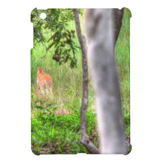 WALLABY RURAL QUEENSLAND AUSTRALIA ART EFFECTS CASE FOR THE iPad MINI