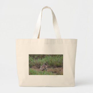 WALLABY RURAL QUEENSLAND AUSTRALIA LARGE TOTE BAG