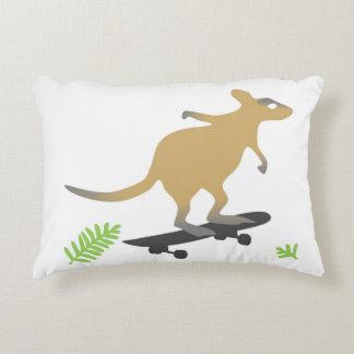 Wallaby skateboard pillow