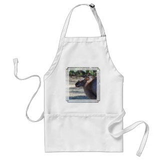 Wallaby Sticking Tongue Out Aprons