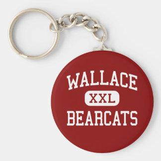 Wallace - Bearcats - High - Wallace South Carolina Key Chains