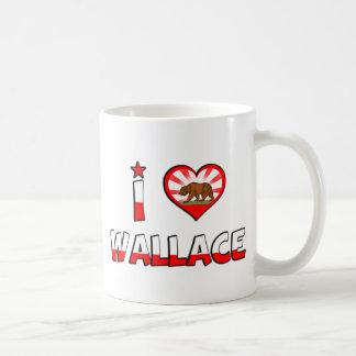 Wallace, CA Coffee Mug