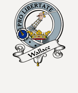 Wallace Clan Badge Shirt