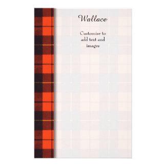 Wallace clan Plaid Scottish tartan Flyer
