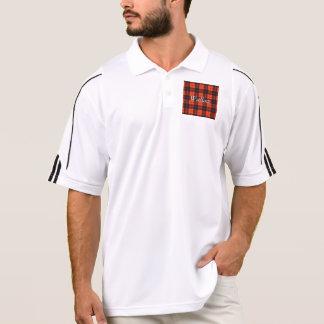 Wallace clan Plaid Scottish tartan Polo Shirt