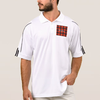 Wallace clan Plaid Scottish tartan Polo Shirts