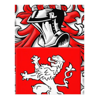 Wallace Coat of Arms Letterhead Template