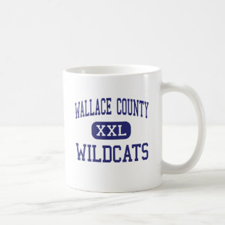 Wallace County - Wildcats - High - Sharon Springs Classic White Coffee Mug