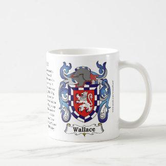 Wallace Family Coat of Arms Mug