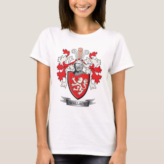 Wallace Family Crest Coat of Arms T-Shirt