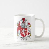 Wallace Family Crest Mug
