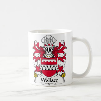 Wallace Family Crest Coffee Mug
