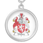 Wallace Family Crest Necklaces