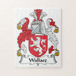 Wallace Family Crest Puzzles