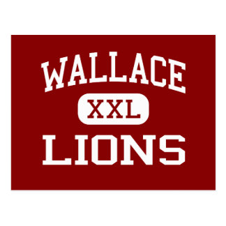 Wallace - Lions - Middle - Waterbury Connecticut Post Cards