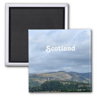 Wallace Monument 2 Inch Square Magnet